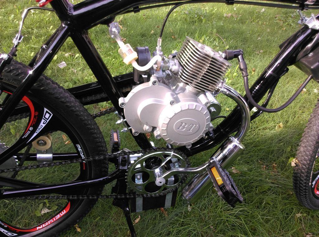 Rower Z Silnikiem Spalinowym Rozruch Elektryczny 6965673187 Oficjalne Archiwum Allegro Vintage Bikes Bicycle Bike