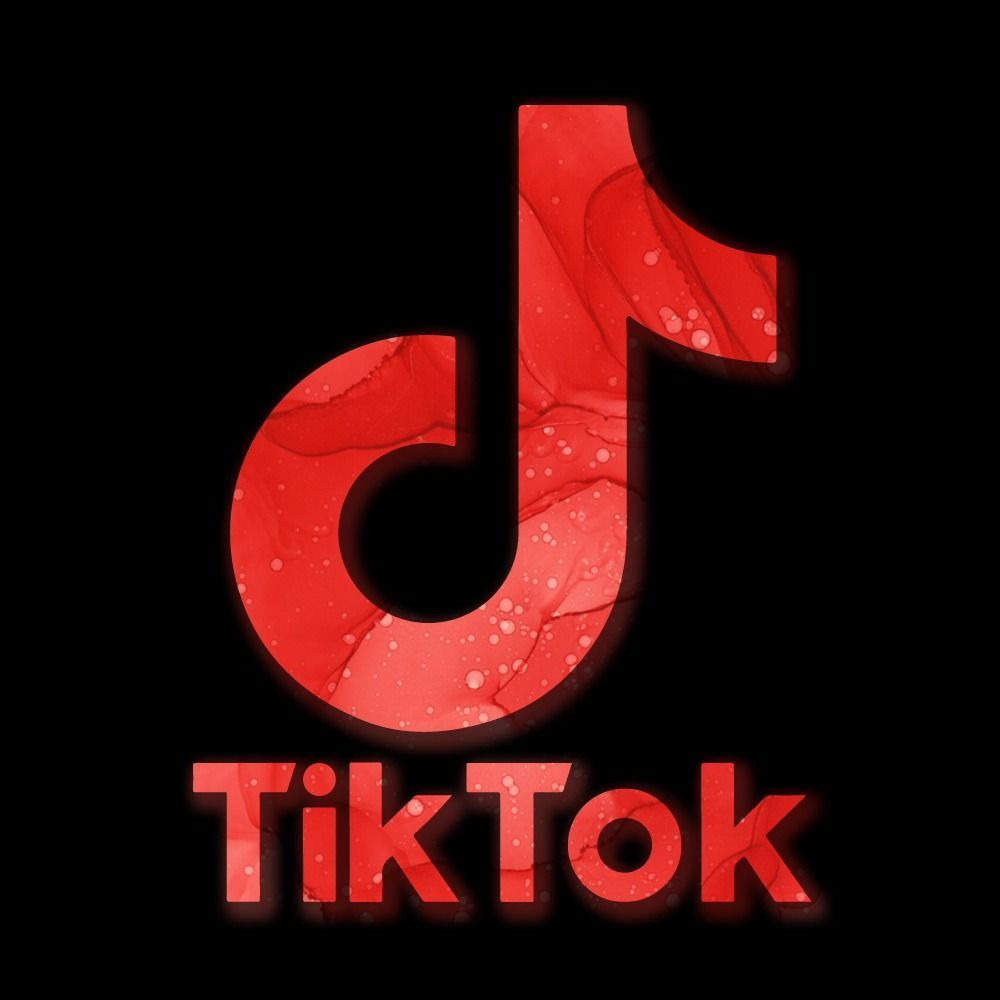 bs abstracts filled tik tok logo