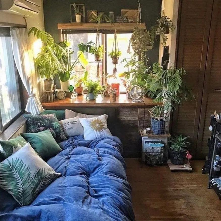 37 gemütliche schlafzimmerecke ideen 16 # gemütliches # schlafzimmer # schlafzimmerdekor # ec...