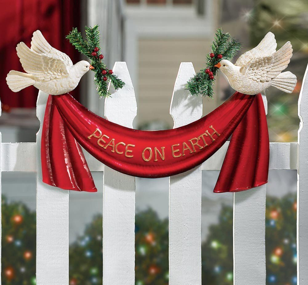 peace on earth doves outdoor christmas decoration we need to pray for peace on earth - Peace Outdoor Christmas Decorations