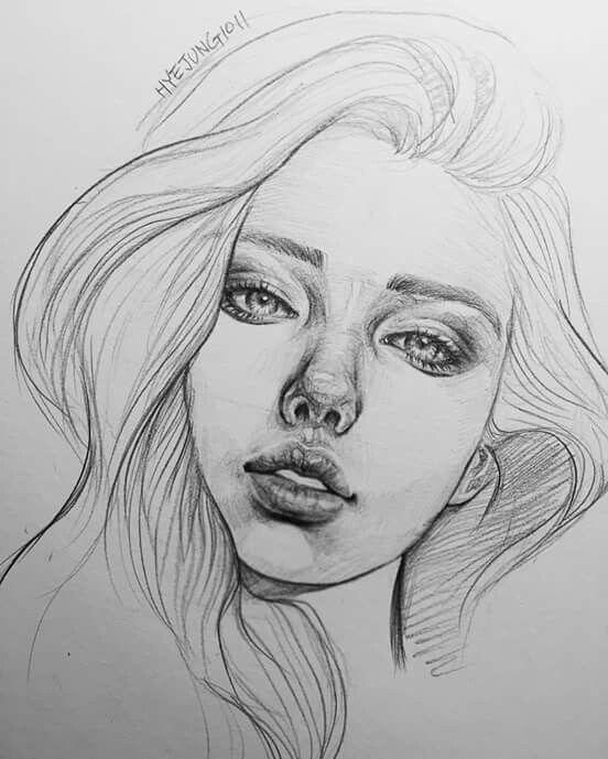 Pin De Maite En Realismo Virtual Mujer Dibujo A Lapiz Rostro De Mujer Dibujo Dibujos A Lapiz Rostros