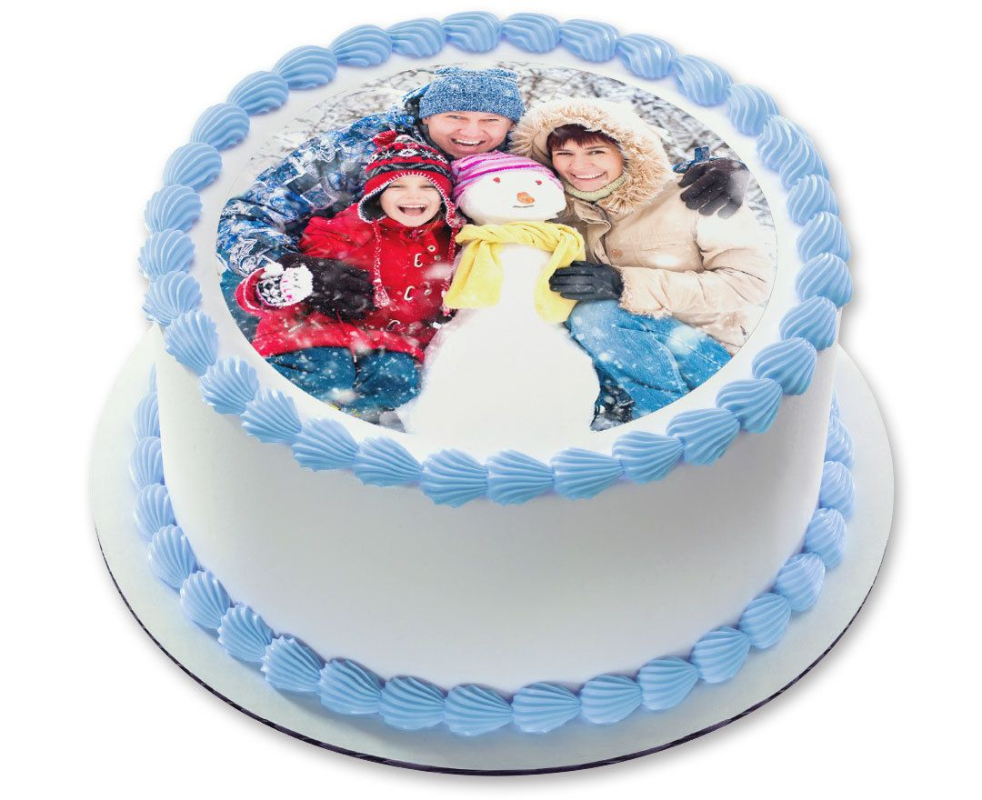 What a great idea for any occasion Custom Photo Edible Cake