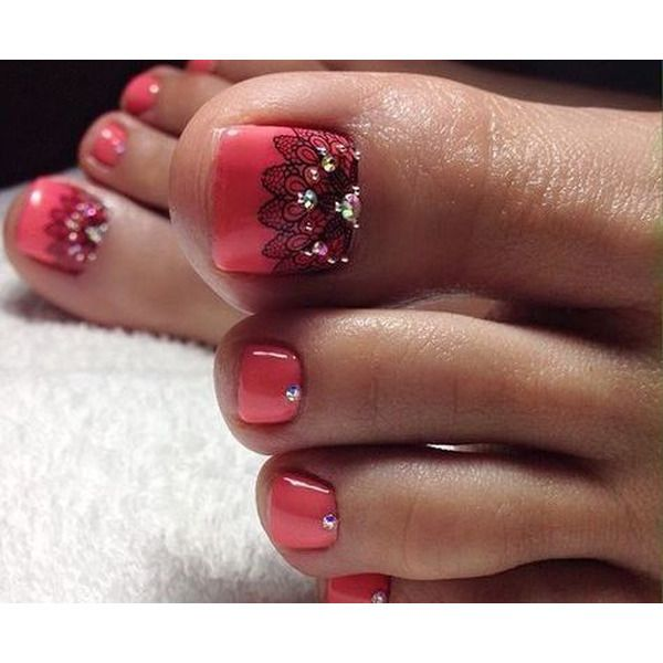 52 Best Nail Designs Decorated With Glitter 2019 Page 10 Of 52 In