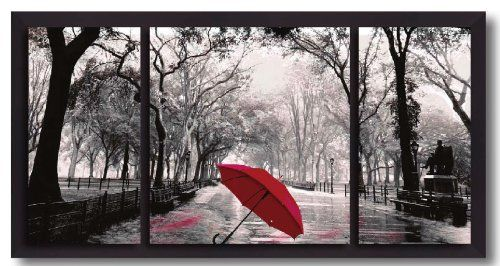 Red Umbrella 40x20-inch