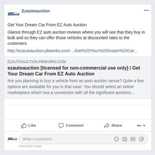 Glance Through Ez Auto Auction Reviews Where You Will See That