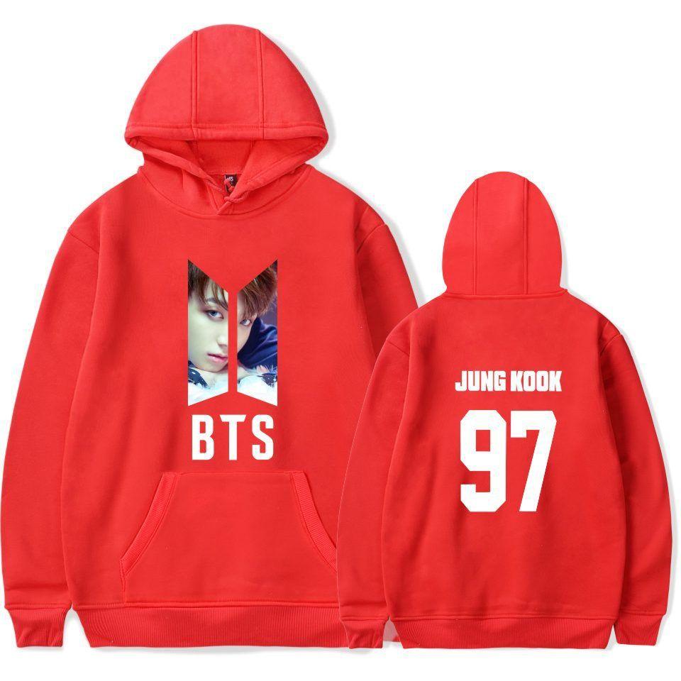 ee353ba52e43 Bts jungkook hoodie (6 varian) in 2019