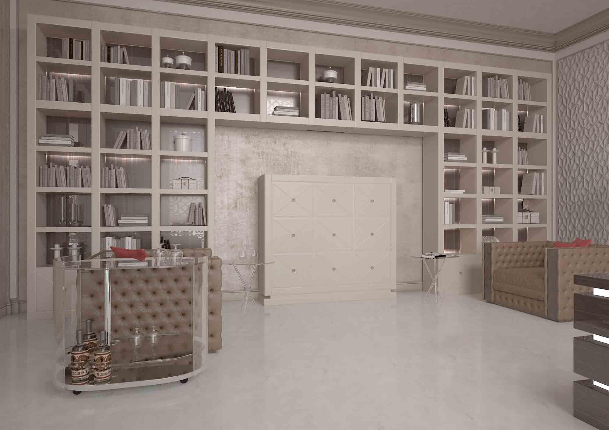 Meubles De Luxe Grande Bibliotheque Luxueuse