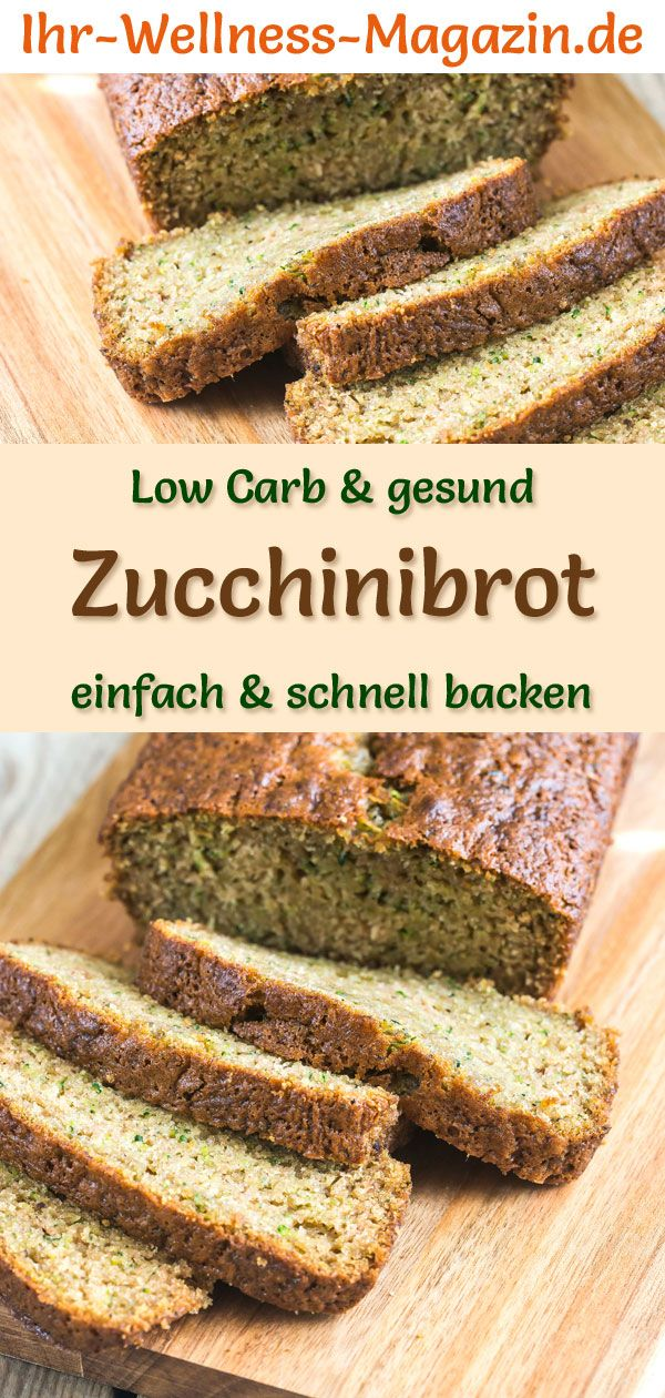 Photo of Low carb zucchini bread – healthy recipe for baking bread