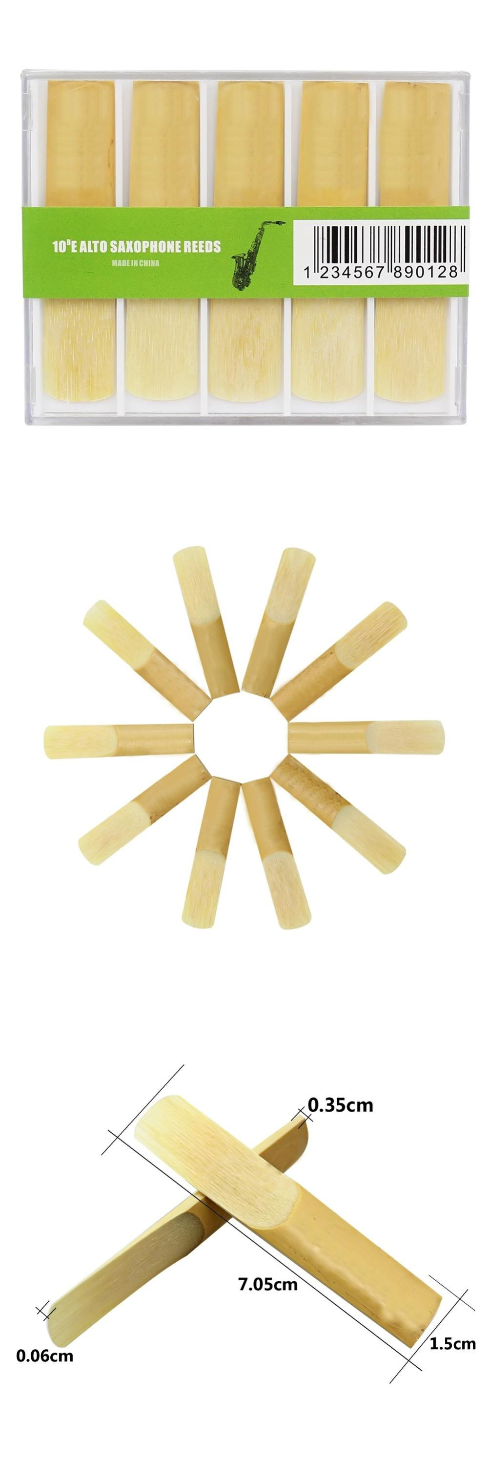 [Visit to Buy] High Quality 10 Pieces 2.5 Reed Bamboo for