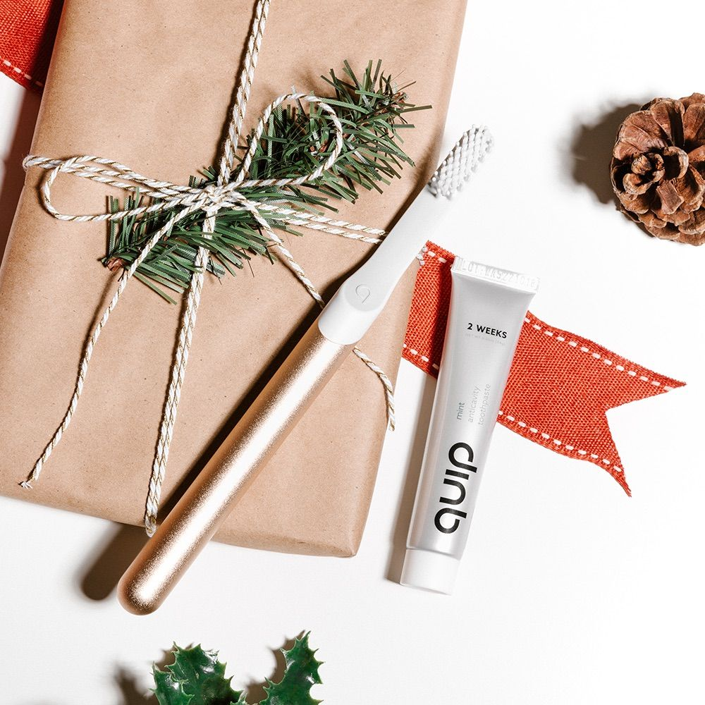 Quip Electric Toothbrush Giveaway A Cup of Jo Brushing