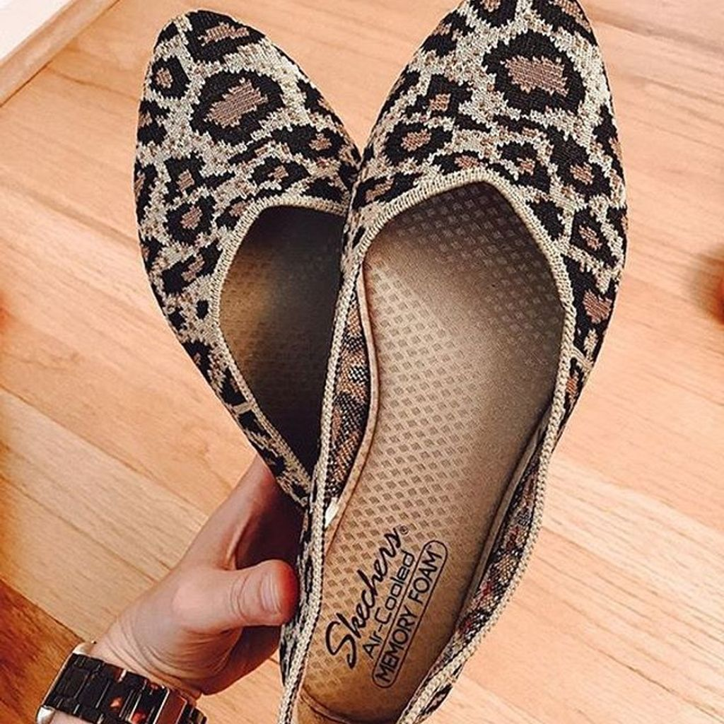 Skechers Cleo Flat in 2020   Flat shoes