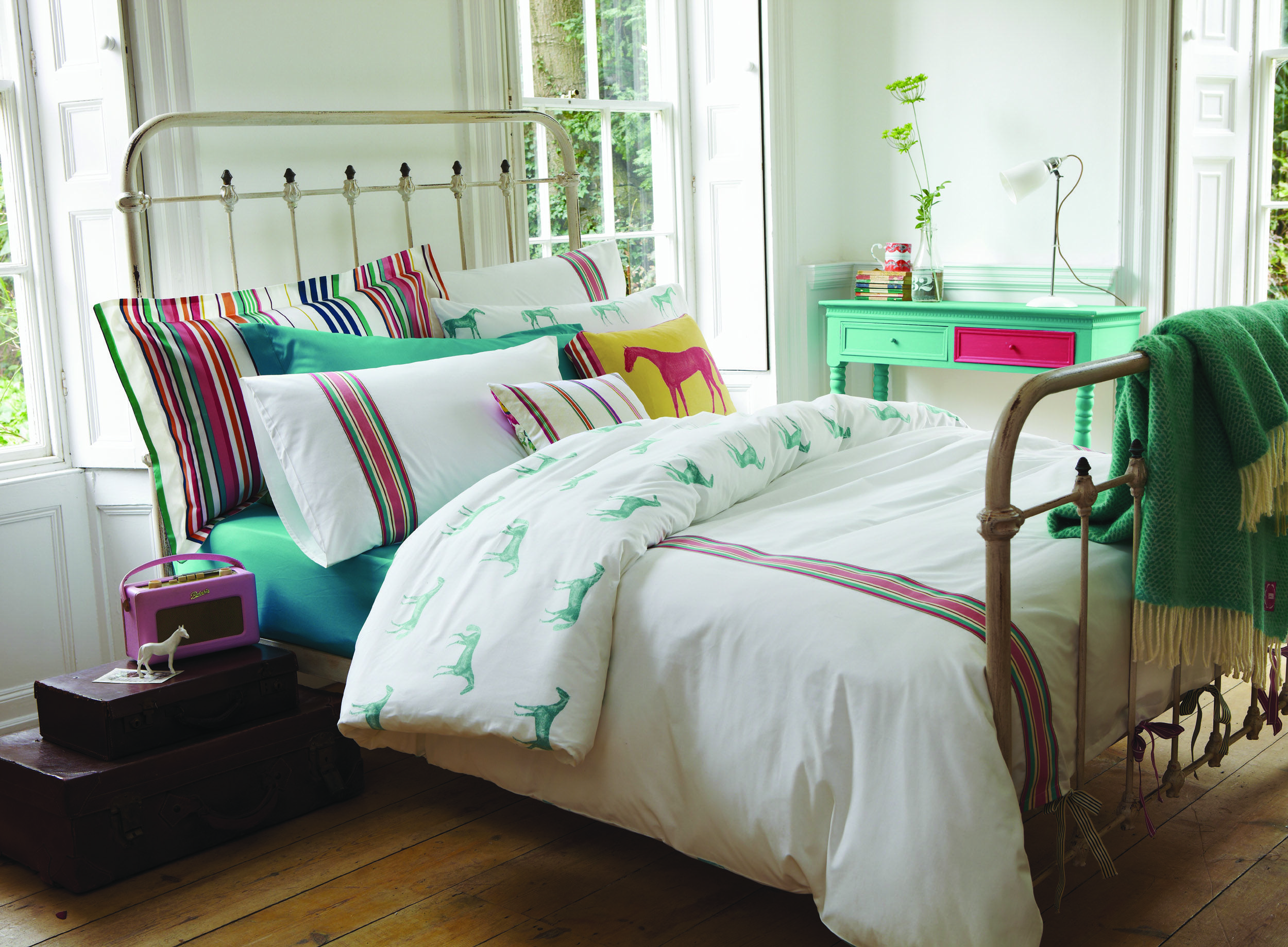 Horse Themed Bedroom Part - 40: Sophisticated Horse Themed Room- They Suggested It For A Child, But Can I  Live