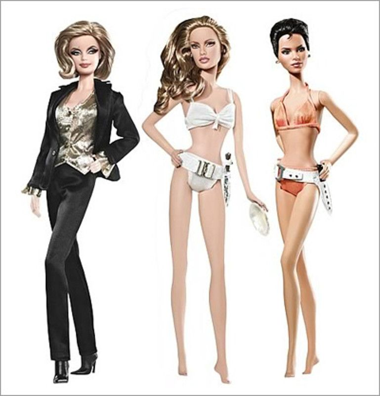 <0> barbie bond girl -