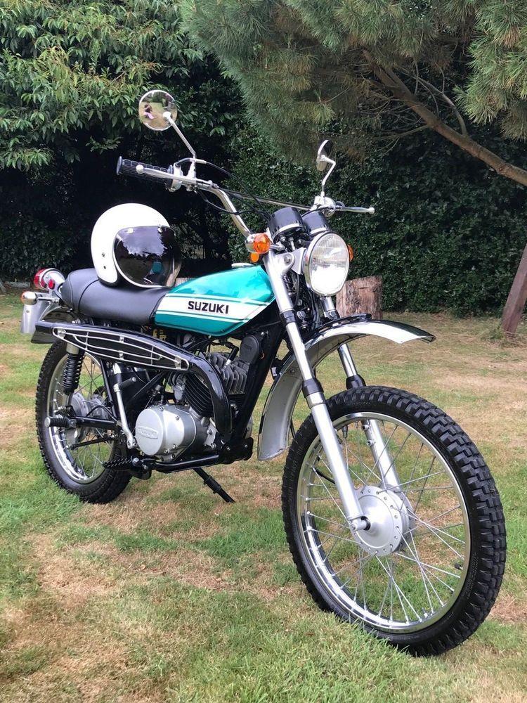 eBay: 1971 SUZUKI TS185 SIERRA - TWIN SHOCK CLASSIC TRAIL