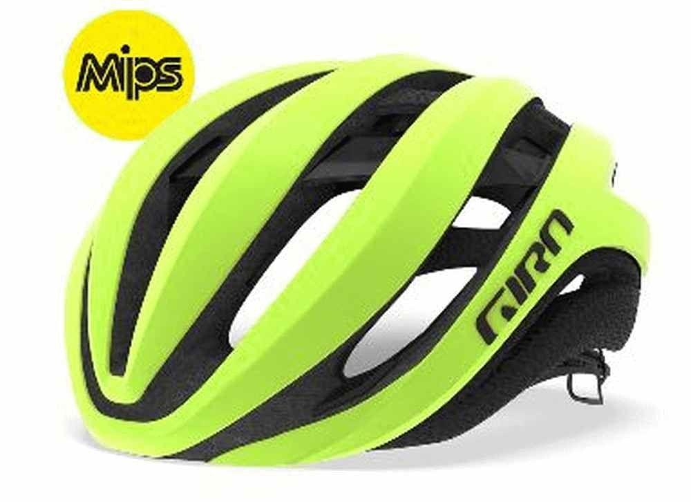 Giro Aether Mips Road Helmet Highlight Yellow 59 63cm Bike