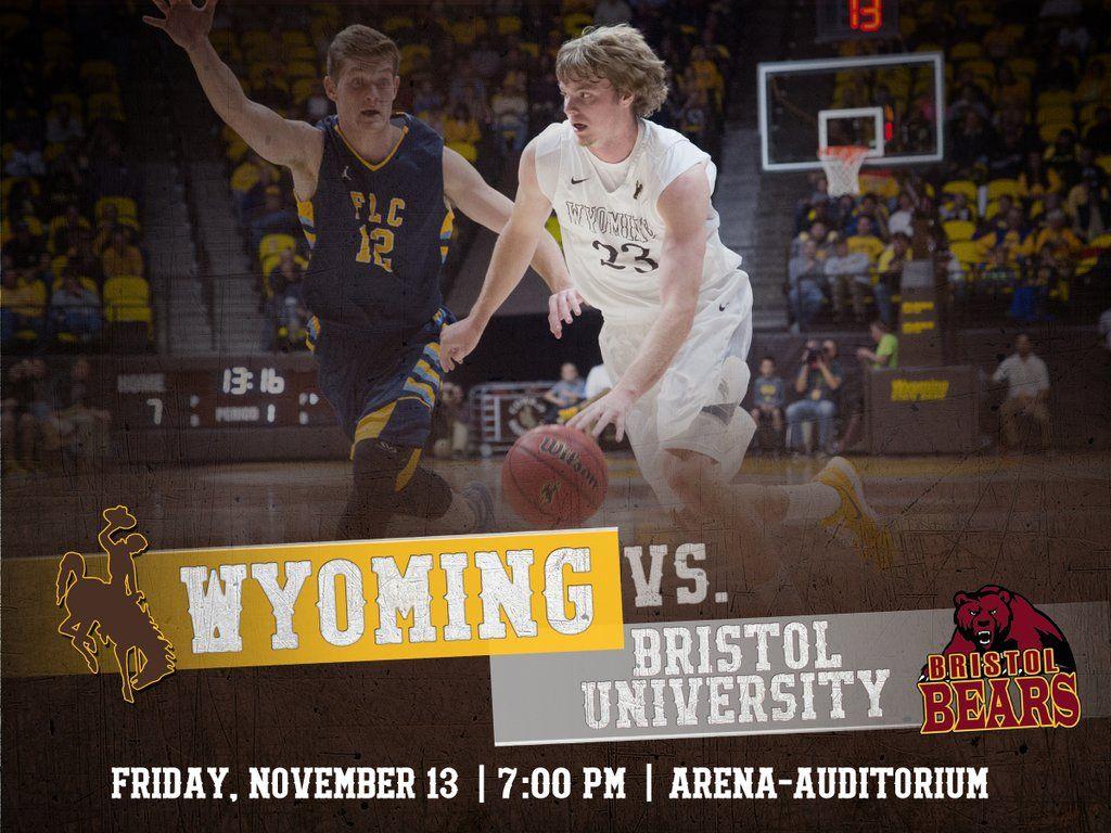 Wyoming Cowboy Basketball on Gameday Graphics Wyoming