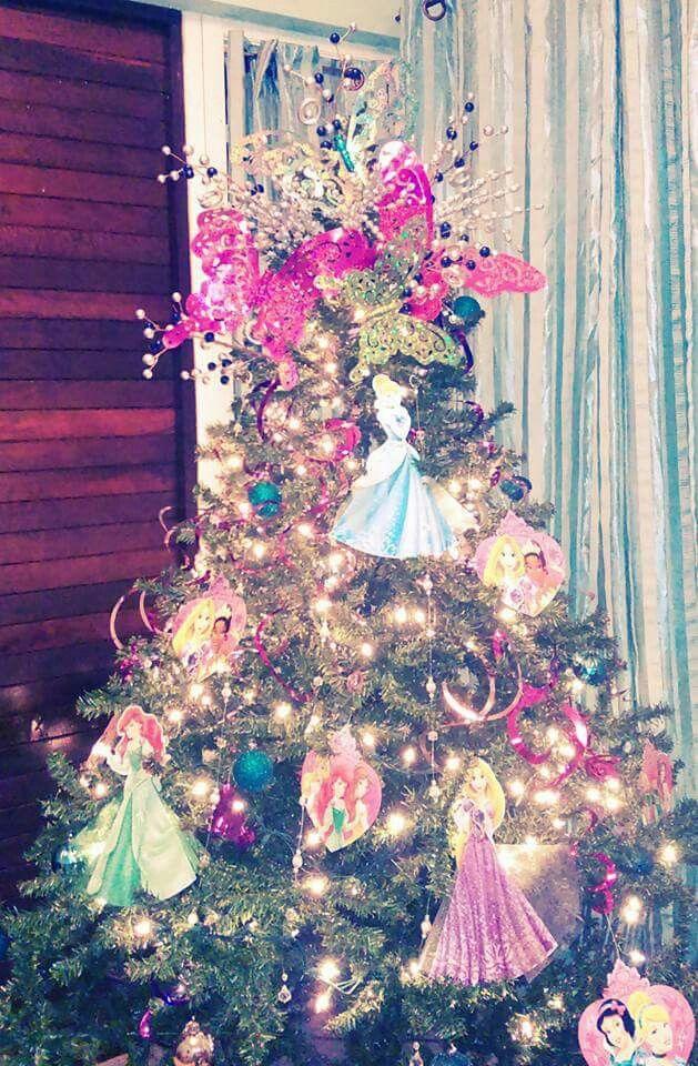 Disney Princess Christmas tree | Disney christmas tree ...
