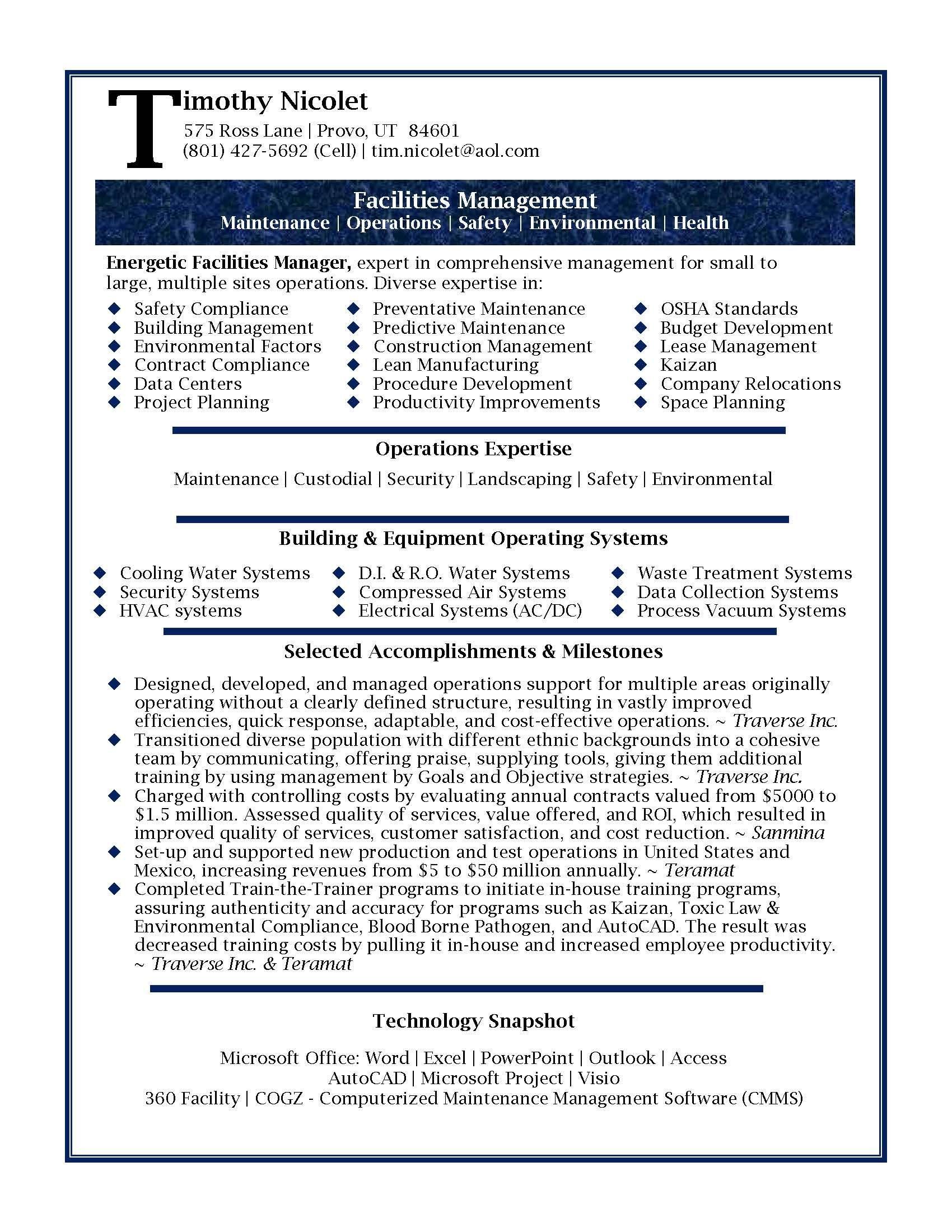Management Objective Resume Professional Resume Samplesjulie Walraven Cmrw  Professional .