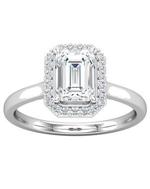 Ever Amp Ever 123348 Engagement Ring Halo Style Engagement