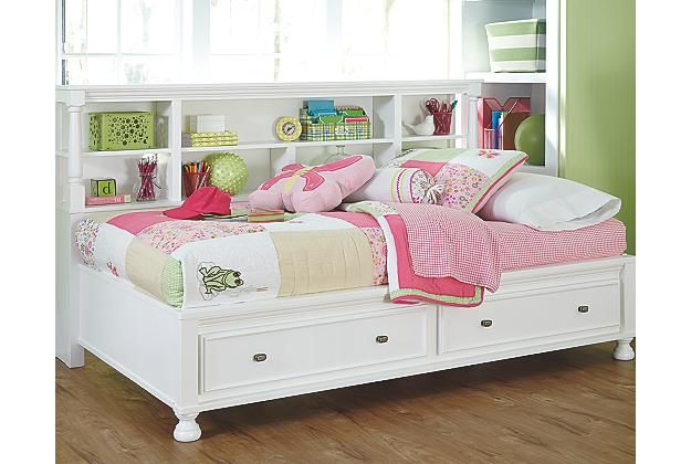 Bon Kaslyn Twin Bookcase Bed | Ashley Furniture HomeStore |Arkansas Largest  Furniture HomeStore | Come By