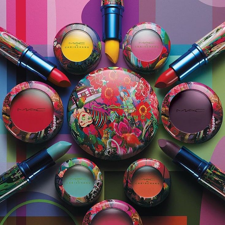 NEW FROM MAC ! .................................Preview, Shades, Colors: MAC Cosmetics Collab With Designer Chris Chang Spring, Summer 2016 Makeup Collection --------   see photos below >>>>>