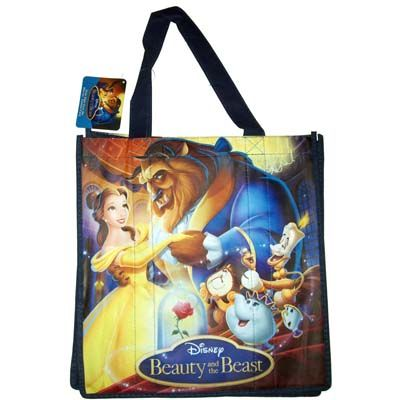 Your WDW Store - Disney Reusable Shopping Bag - Belle and Beast ...