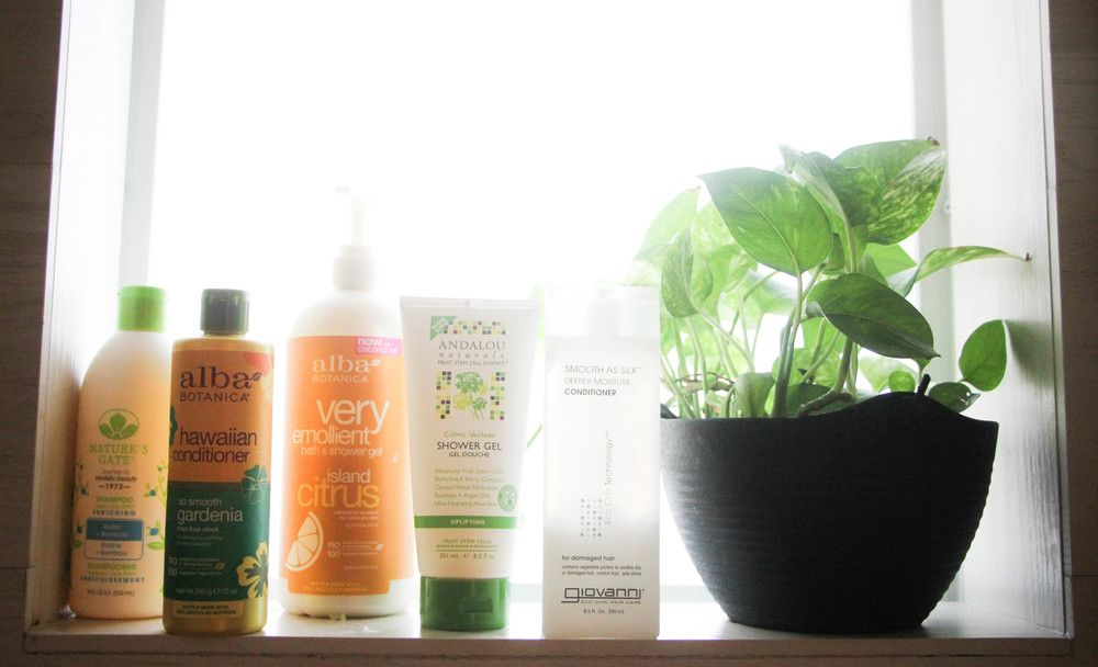 Te reomiendo productos naturales para el baño. Productos sin químicos y conscientes con el medio ambiente.