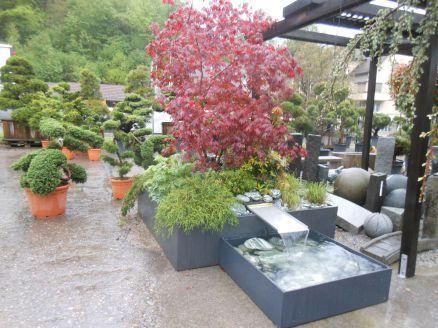 Hochbeet Kombiniert Mit Wasserspiel Garten Pinterest Garten
