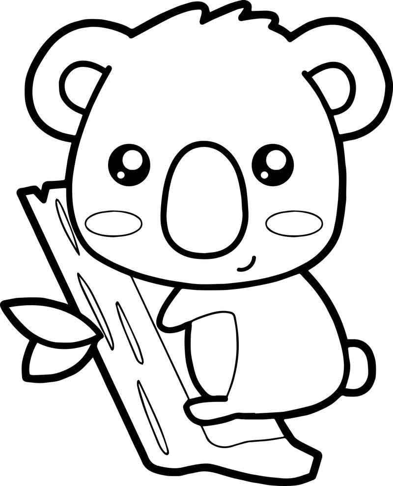 Zoo Koala Coloring Page Bear Coloring Pages Coloring Pages Coloring Books