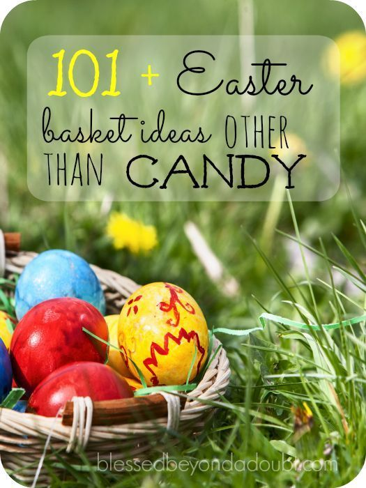 101 easter basket stuffer ideas other than candy basket ideas 101 easter basket stuffer ideas other than candy basket ideas easter baskets and easter negle Images