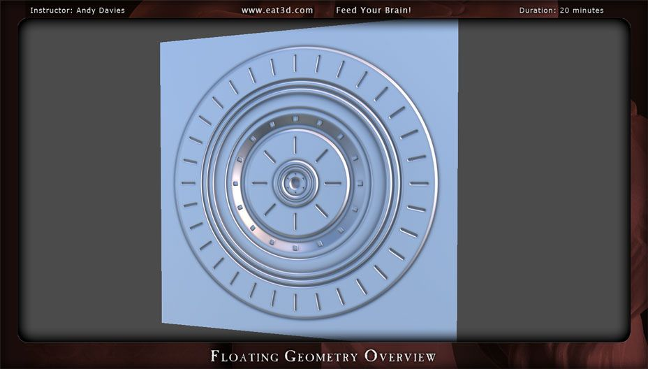Floating Geometry Overview   Eat 3D   Floating, Geometry