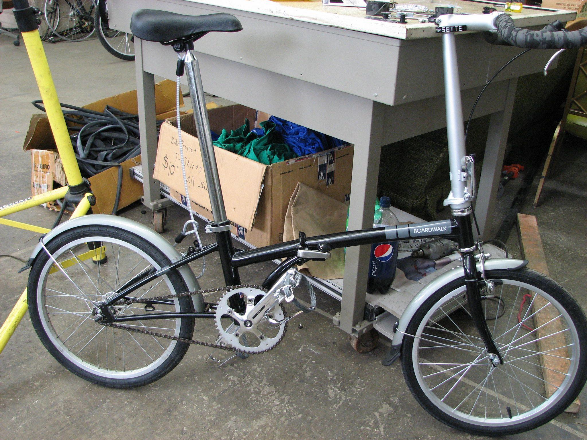 Fixie Folding Bike