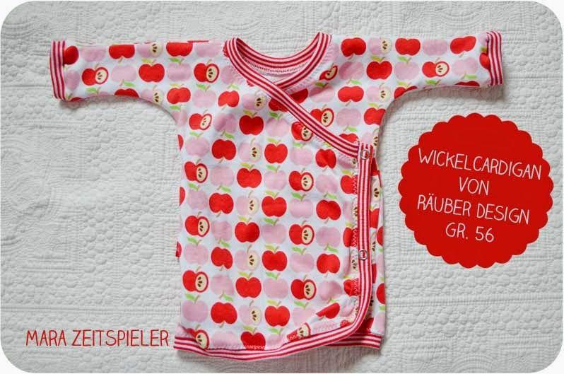 Freebook Wickelcardigan   to sew Baby - Nähen fürs Baby   Pinterest ...