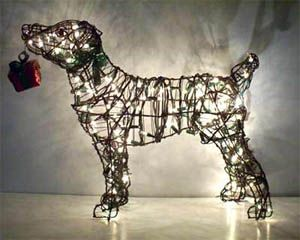 Jack Russell Puppy Dog Statue Home Garden Sculpture