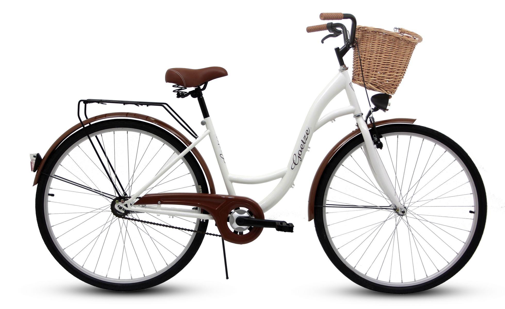 Damski Rower Miejski Goetze 28 Eco Damka Kosz Bicycle Vehicles