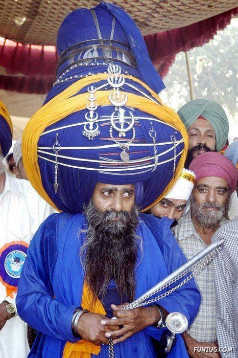 stylish sikh turban