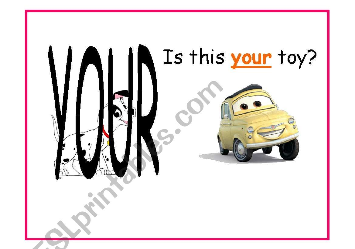 Possessive Adjectives And Possessive Case With Examples 1