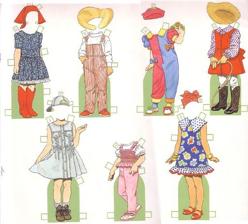 Paper Dolls~Birthday Girls by Tom Tierney - Yakira Chandrani - Picasa Web Albums