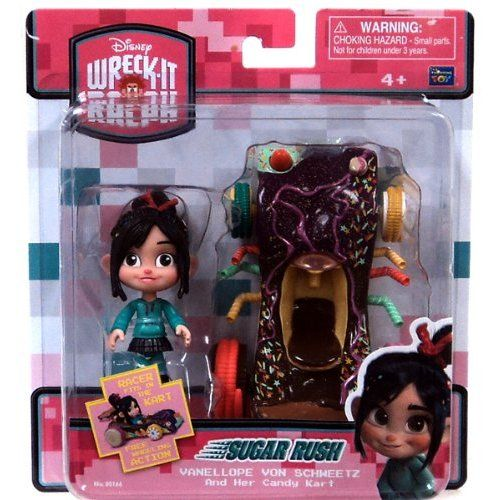 $36.95Amazon.com: Wreck-it Ralph Vanellope Von Schweetz & her Candy Kart: Toys & Games