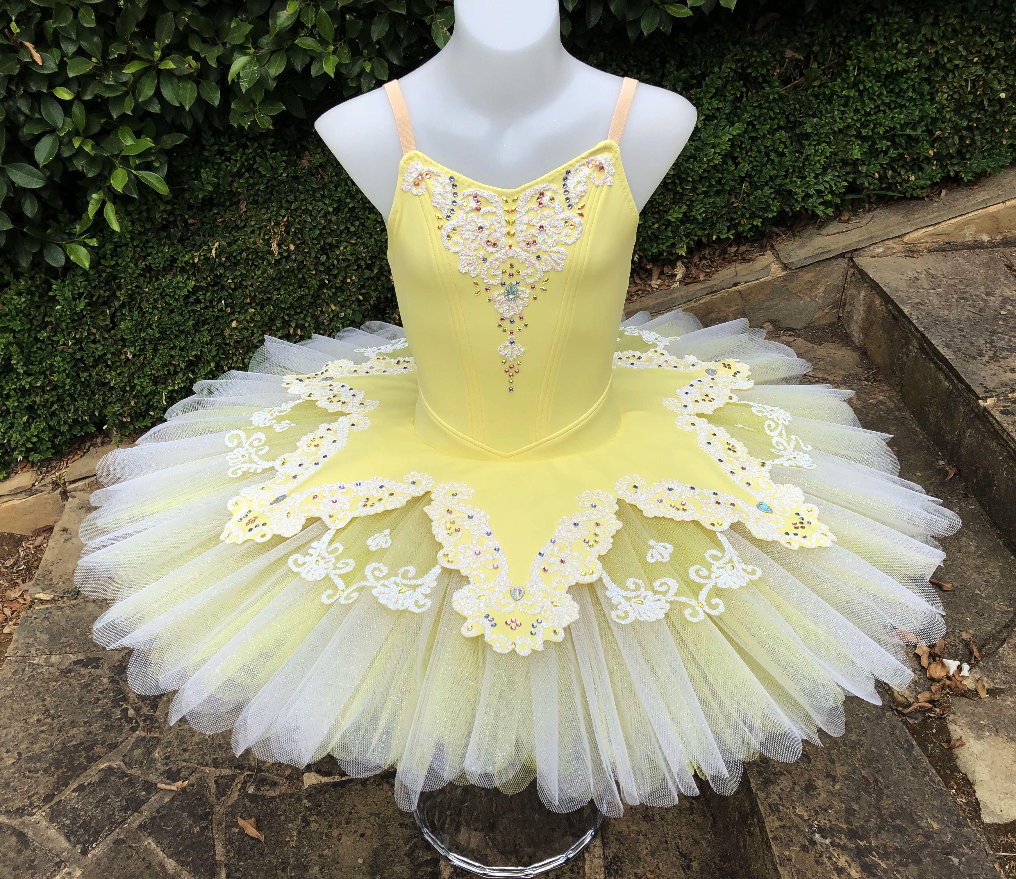 31ddb753c0 Lemon and ivory classical ballet tutu Koz I Love Tutus   Ballet ...