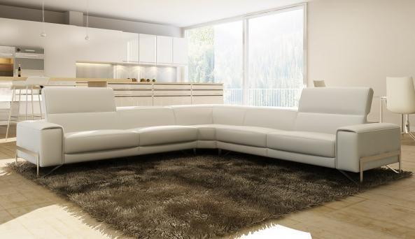 Meubles Ca De Lacroix Design Italian Leather Sectional Sofa Sectional Sofa Leather Sofa Living Room