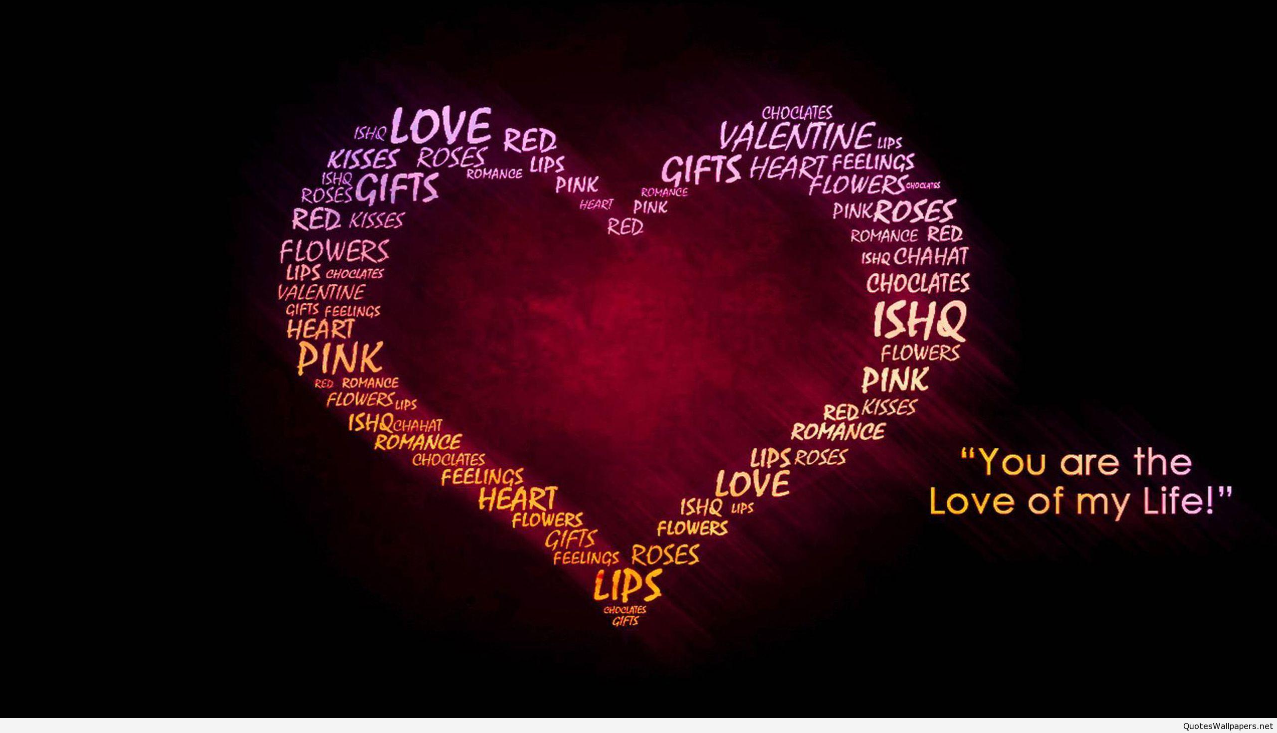 Broken Heart Quotes Wallpaper 02 2560x1440