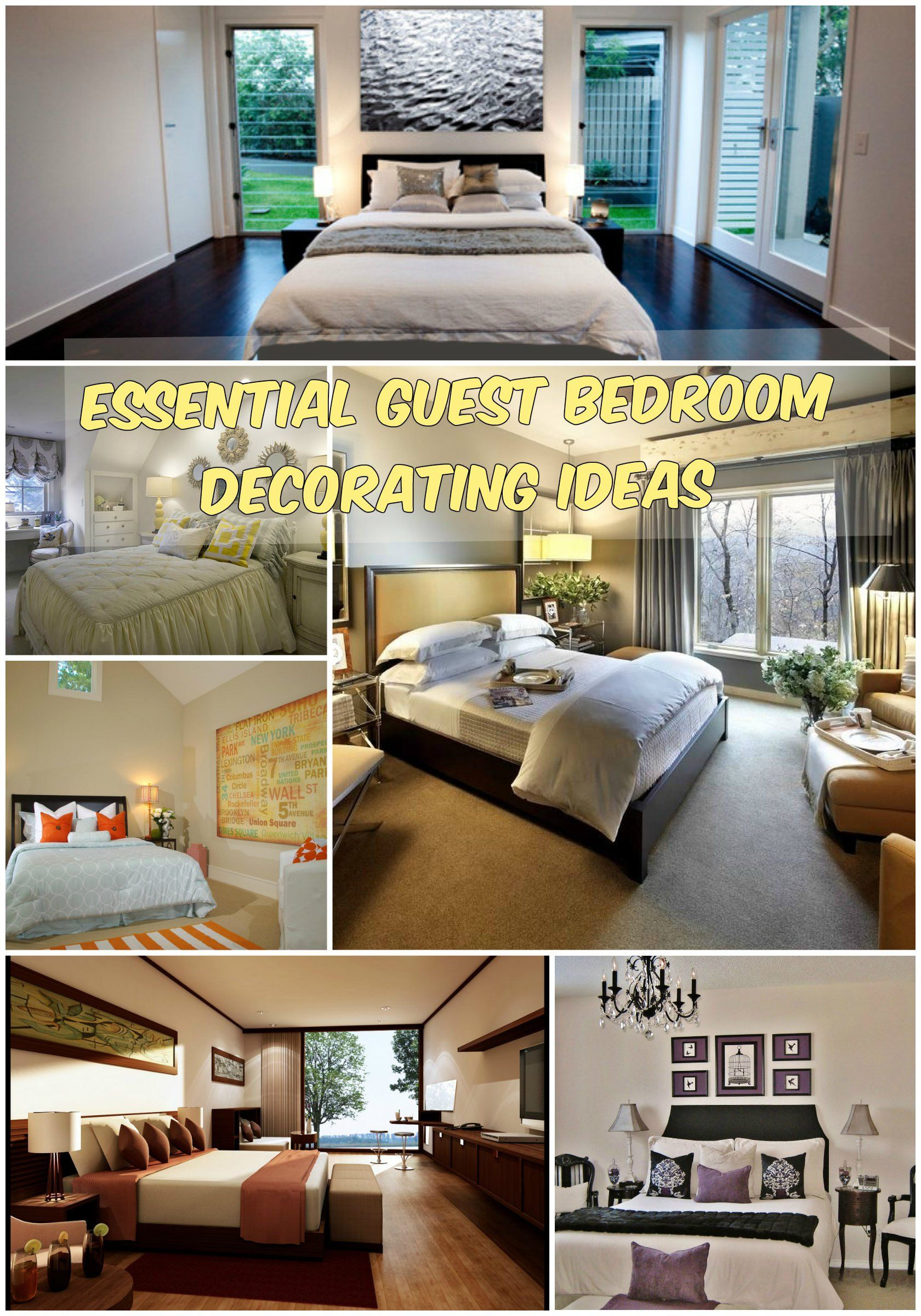 Guest Bedroom Decor Ideas Prepossessing Why Guest Bedroom Decorating Ideas Are Important  Diy Home Decor Review