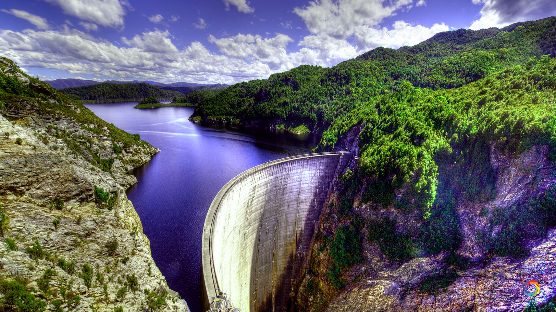 Nature Dam View Amazing 4K Download (With images) Nature