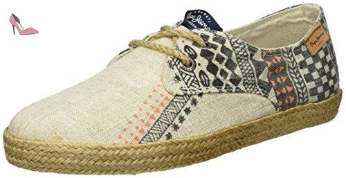 London, Espadrilles Femme, Or (Gold), 38 (EU)Pepe Jeans London