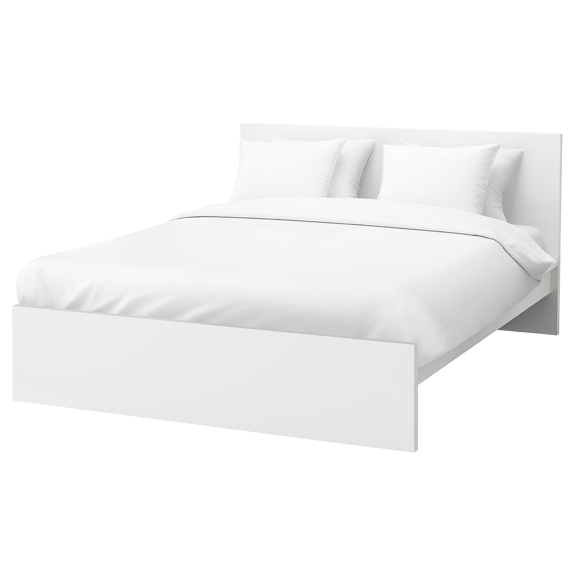 Malm Bed Frame High White Luroy Queen Malm Bed Frame High