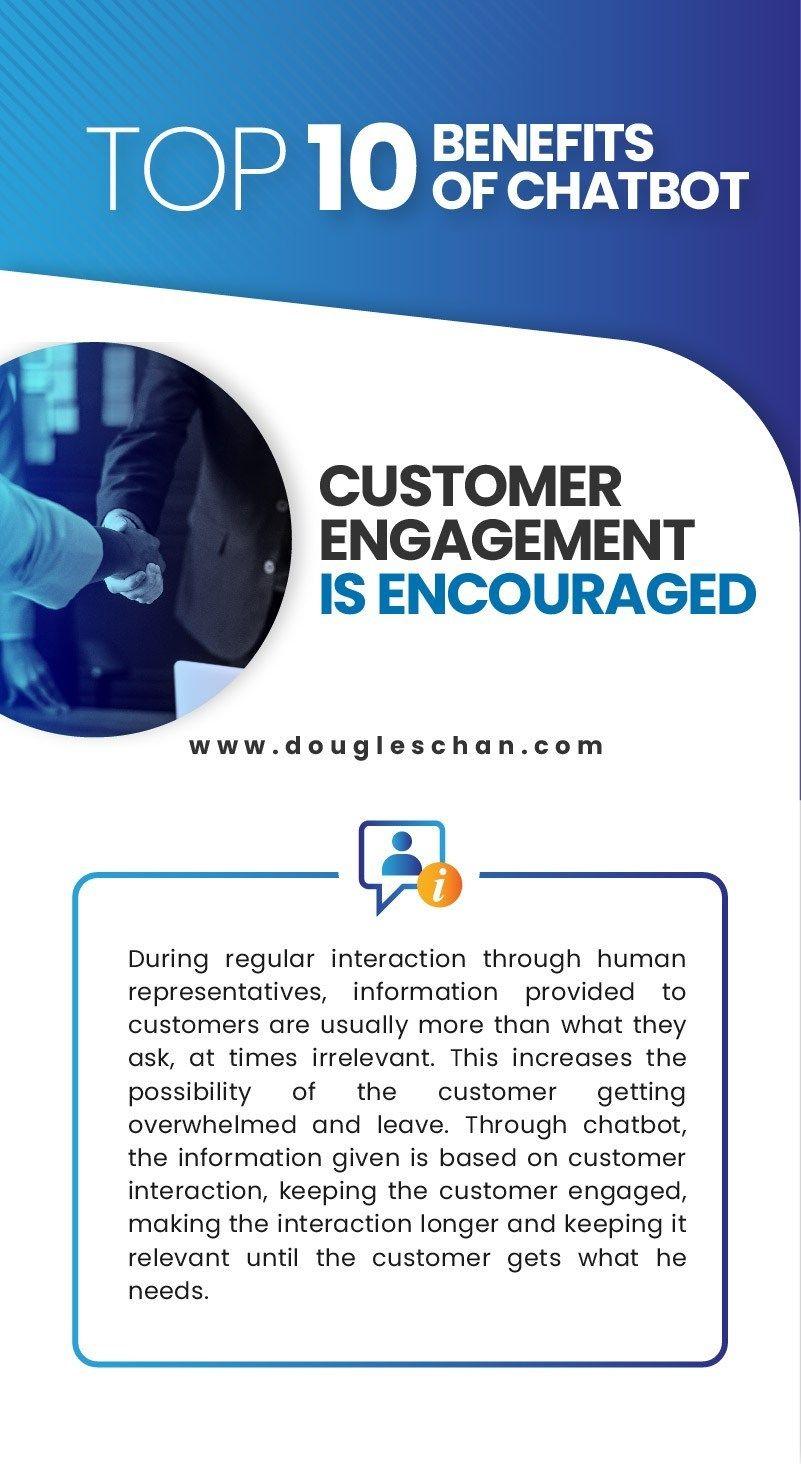 Top 10 Benefits of Chatbot Chatbot, Social media