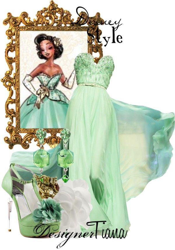 Disney Style Tiana By Missm26 Liked On Polyvore