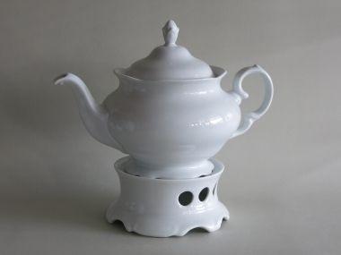 Porzellan Im Hinterhof Teekannen Und Kaffeekannen Aus