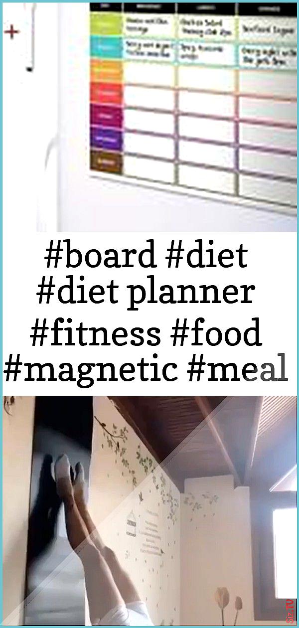 board diet diet planner fitness food magnetic meal nutrition planner prep refrigerator 1 board diet...